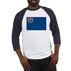 Nevada Flag Baseball Jersey