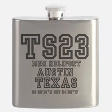 TEXAS - AIRPORT CODES - TS23 - MGM HELIPORT  Flask