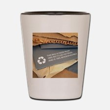 Recycled materials Shot Glass