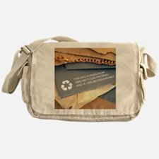 Recycled materials Messenger Bag