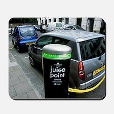 Recharging electric cars Mousepad