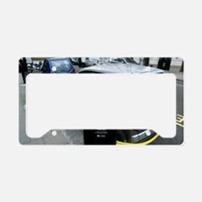 Recharging electric cars License Plate Holder