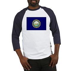 New Hampshire Flag Baseball Jersey