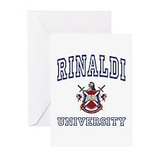 RINALDI University Greeting Cards (Pk of 10)