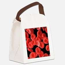 Red blood cells, SEM Canvas Lunch Bag