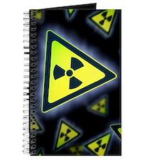 Radiation warning signs, artwork Journal