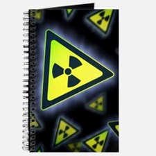 Radiation warning signs, artwork Journal