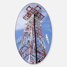 Radio transmitter mast Decal