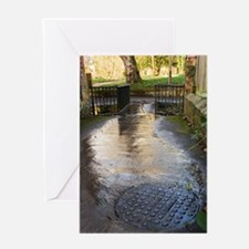Raw sewage Greeting Card