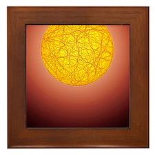 Quantum waves Framed Tile