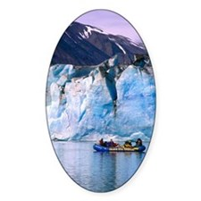 Rafting on Lowell lake, Canada Decal