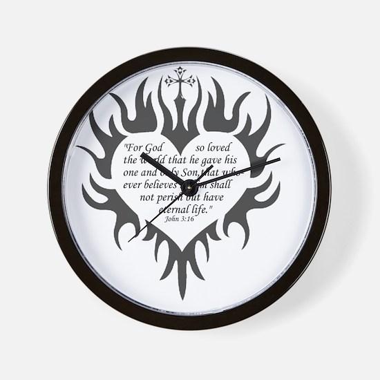 Gods Love Wall Clock