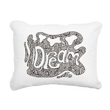 Dream Splash Rectangular Canvas Pillow