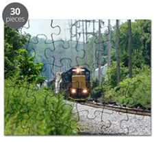 Freight Train on single track Puzzle