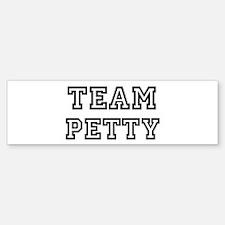 Team PETTY Bumper Bumper Bumper Sticker