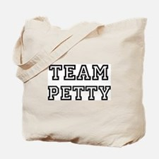 Team PETTY Tote Bag