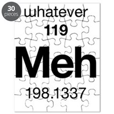 Meh - the Element of Whatever Puzzle