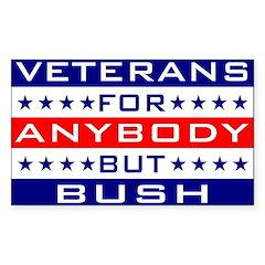 Veterans for Anybody but Bush
