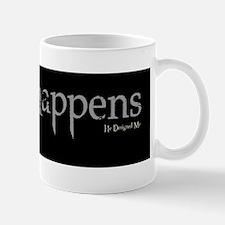 Christ Happens sticker Mug