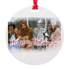 Oz Holiday Ornament (Round W/ Ribbon)