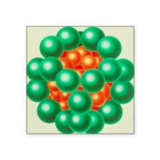 "Pyruvate dehydrogenase enzy Square Sticker 3"" x 3"""