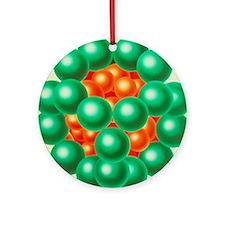 Pyruvate dehydrogenase enzyme Round Ornament