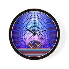 Quantum resonance Wall Clock