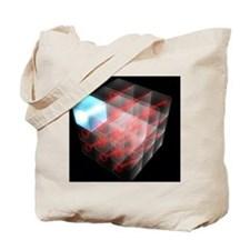 Quantum encryption, computer artwork Tote Bag