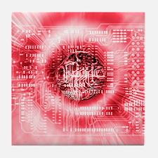 Quantum computing Tile Coaster