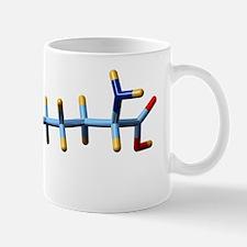 Pyrrolysine, molecular model Mug
