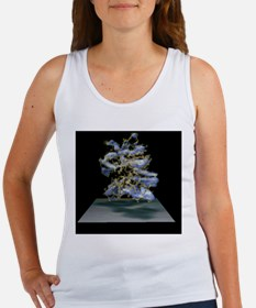 Protein structure and electron de Women's Tank Top