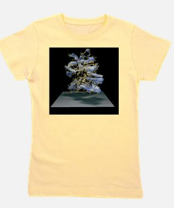 Protein structure and electron density Girl's Tee