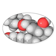 Prostaglandin E1 molecule Decal