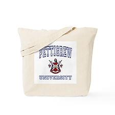 PETTIGREW University Tote Bag
