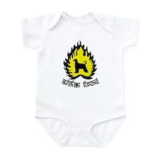 Afghan Hound Infant Bodysuit