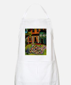 Fluffing Like Crazy Quilt Apron
