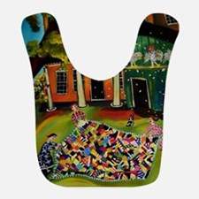 Fluffing Like Crazy Quilt Bib