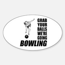 Grab Your Balls Bowling Decal