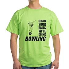 Grab Your Balls Bowling T-Shirt