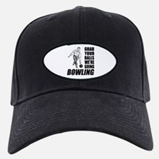 Grab Your Balls Bowling Baseball Hat