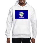 Oklahoma Flag Hooded Sweatshirt