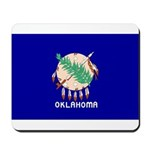 Oklahoma Flag Mousepad