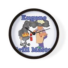 Grill Master Eugene Wall Clock
