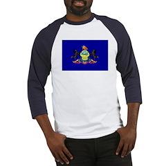 Pennsylvania Flag Baseball Jersey
