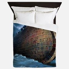 Preservation of knowledge, artwork Queen Duvet