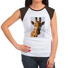Giraffe Giraffa camelop Tee
