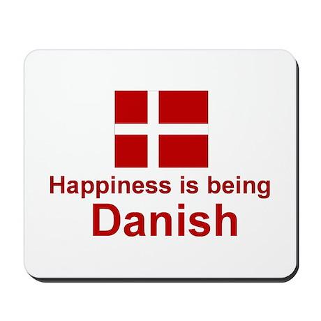Danish Happiness Mousepad