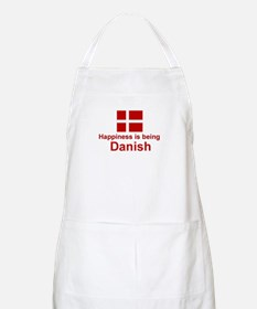 Danish Happiness BBQ Apron