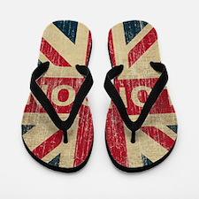 SquareUnionJack1 Flip Flops