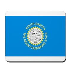 South Dakota Flag Mousepad